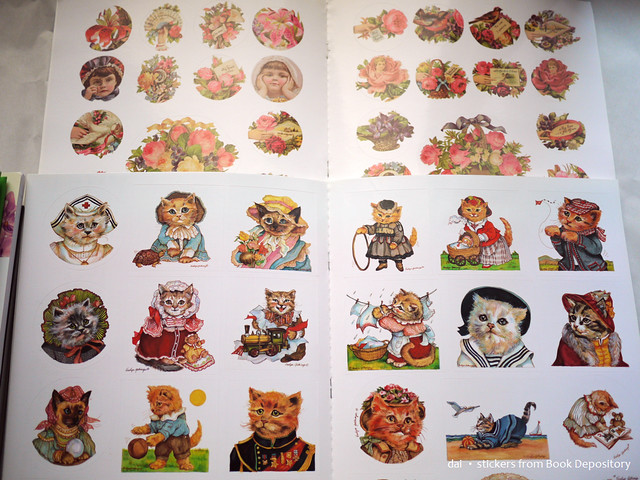 stickers from Book Depository