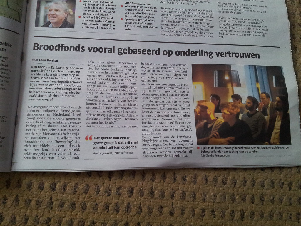 Broodfonds in Den Bosch