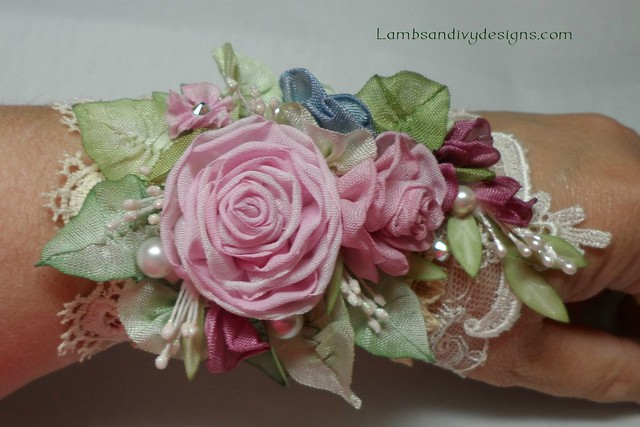 ribbonwork cuff