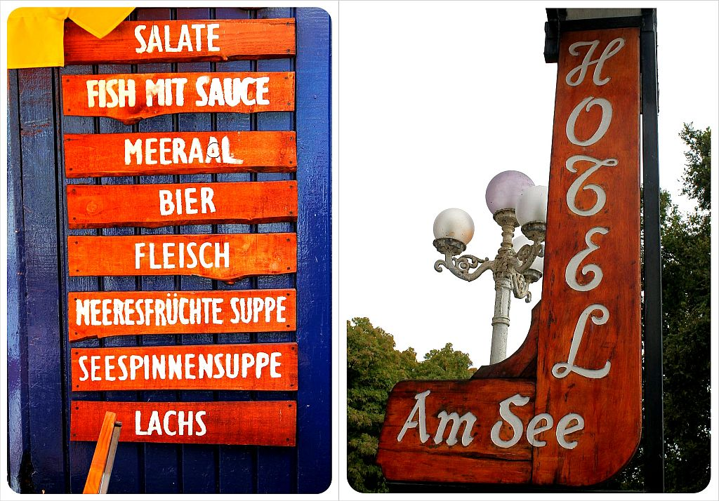 German signs in Chile