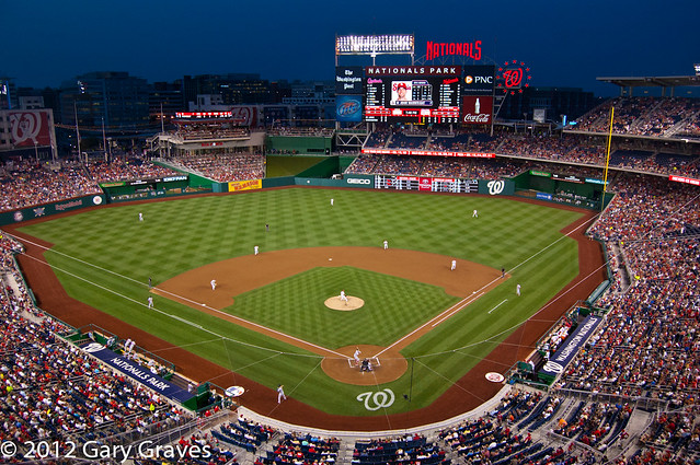 Night Baseball Washington Nationals