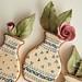 Vase Cookies With Gum Paste Roses by SweetAmbsCookies