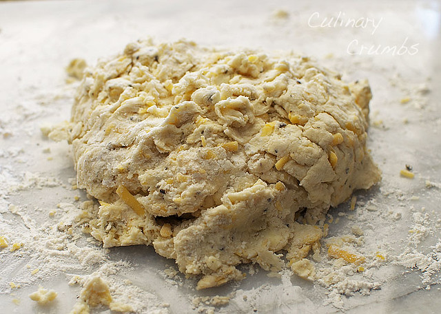 cheesy biscuit dough