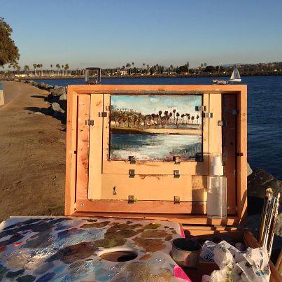 Ocean Beach Painting