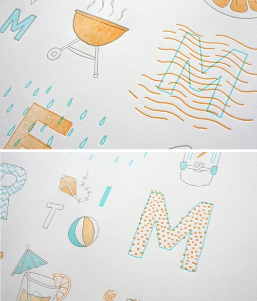 summertime print by SOF