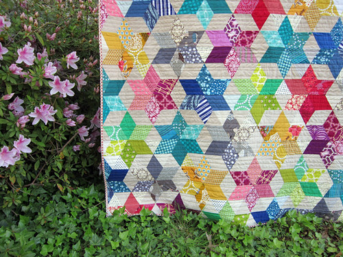 scrappy Starbright Quilt
