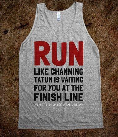 motivational shirt channing tatum