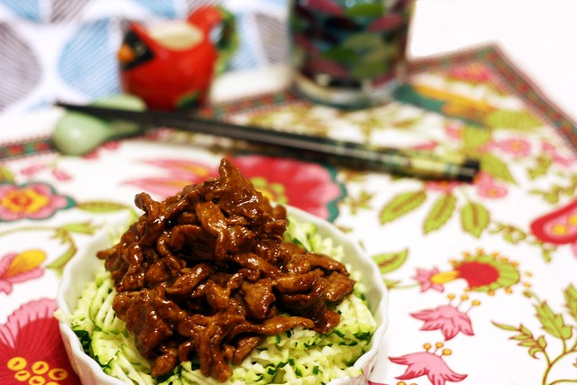 京醬肉絲 Sautéed Shredded Pork in Sweet Bean Sauce 8