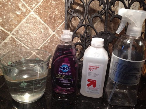 Homemade Granite Cleaner – Recipe and Results!