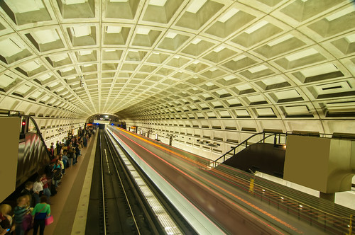 Smithsonian metro station in Washington DC by DigiDreamGrafix.com