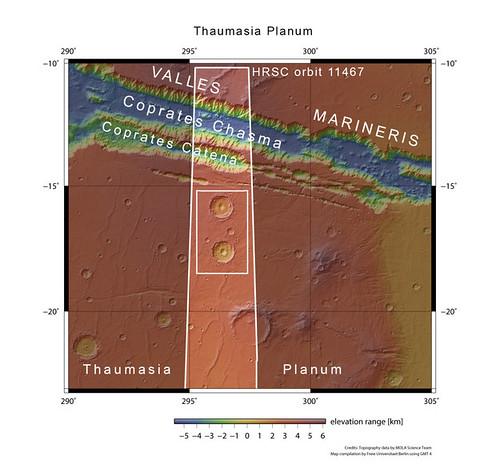 Thaumasia Planum