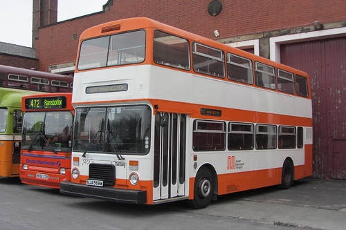 Leyland Olympian NJA 568W, Greater Manchester Transport, Museum of Transport, Cheetham