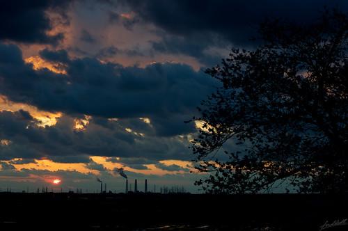 sunset japan evening spring nikon sakura niigata 50mmf14 d90 nikkorsc50mmf14 2013 nikkorsc50mmf14c sc50mmf14