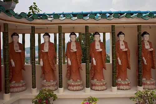 1, 2, 3, 4, 5, 6 Buddhas