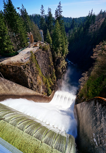 Cleveland Dam in North Vancouver