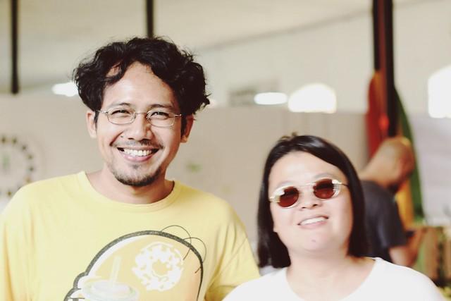 Budi Warsito & Ariani Darmawan from Rumah Buku/Kineruku