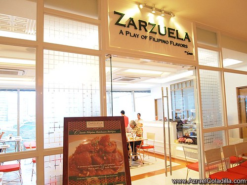 Zarseual restaurant in new east wing of Shangri La Plaza photos by Azrael Coladilla