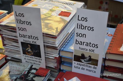 Los libros son baratos