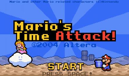 Mario w potrzasku czasu