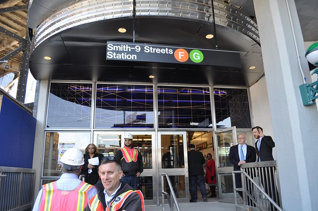 Smith-Ninth Streets Station Outside