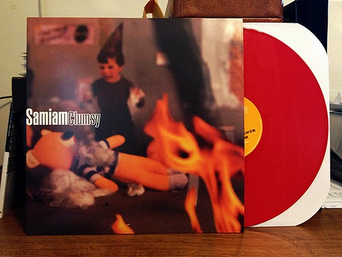 Record Store Day Haul #4: Samiam - Clumsy LP - Red Vinyl (/1500) by Tim PopKid