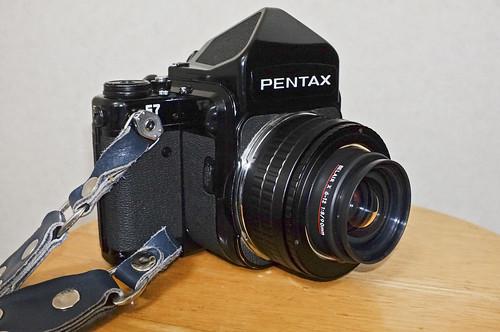 Pentax 67 with BELAIRGON 90mm