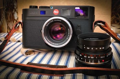 Leica M8 & Voigtlanders