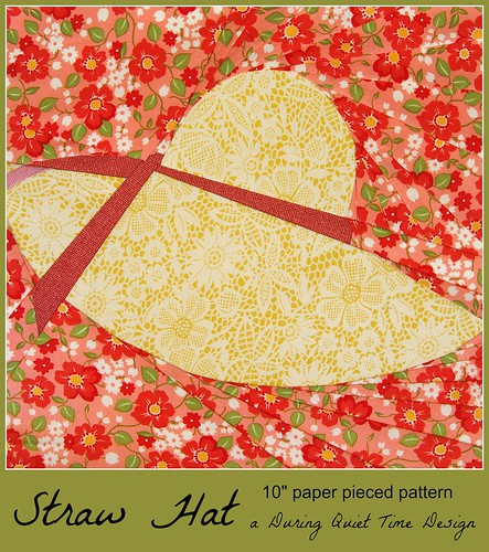 Straw Hat Pattern