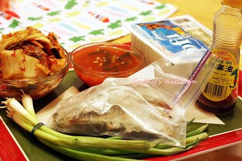 韓式辣泡菜豆腐豬肉湯 Pork Kimchi JjiGae  4