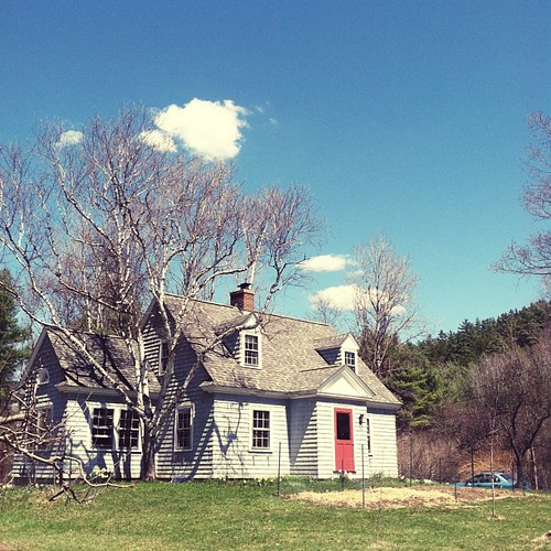 I love these cute little New England homes.