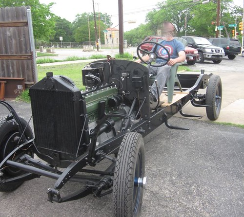 Packard 733 running chassis