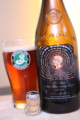 Brooklyn Brewery Silver Anniversary Lager (1988-2013)