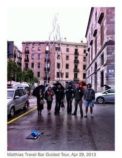 Attēls no Homenatge als castellers. barcelona walking spain tour free catalonia matthias travelbar mybcnse mybcn