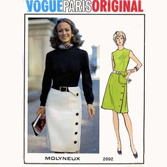 Vogue Molyneux dress & Skirt