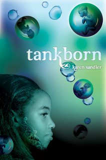 the cover of the book Tankborn, featuring a girl of color