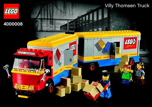 LEGO Inside Tour 2013 - Villy Thomsen Truck (4000008)