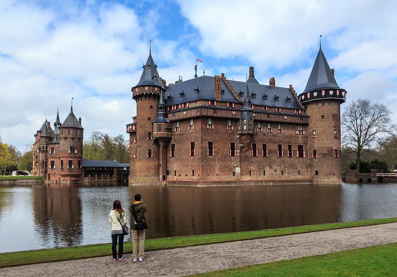 Kasteel de Haar close to Utrecht - some think it's the most beautiful Dutch castle