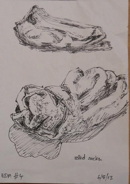 Socks sketch EDM #4