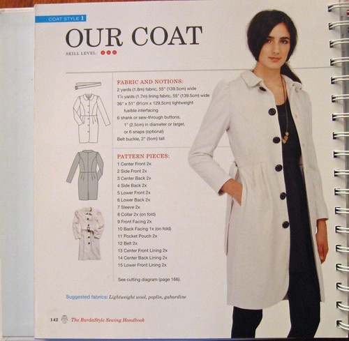 BurdaStyle book white coat