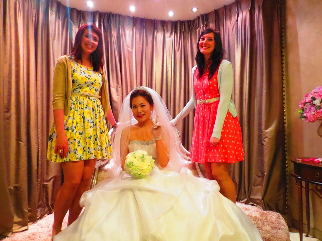 Natasha, Grace and I