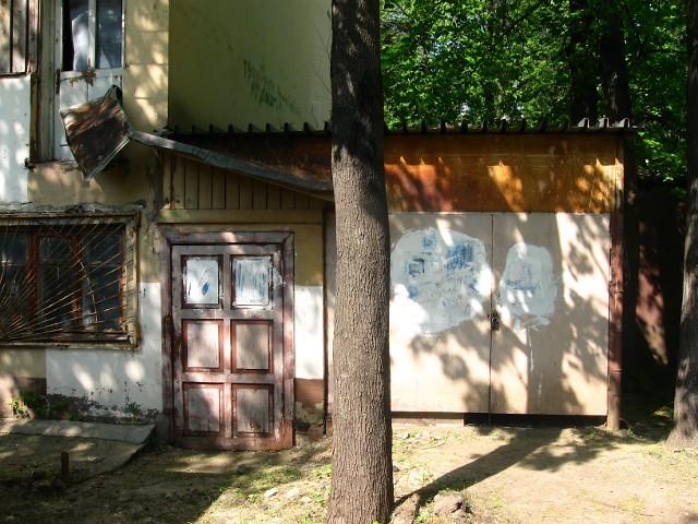 Дом Наркомфина, коммунальная пристройка