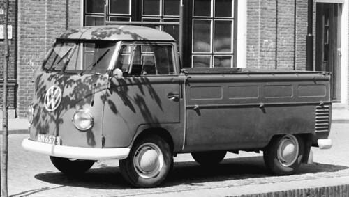 RN-65-73 Volkswagen Transporter enkelcabine 1958