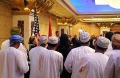 Secretary Kerry Meets With Embassy Muscat Staff