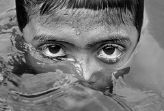 Eyes on water | West Bengal