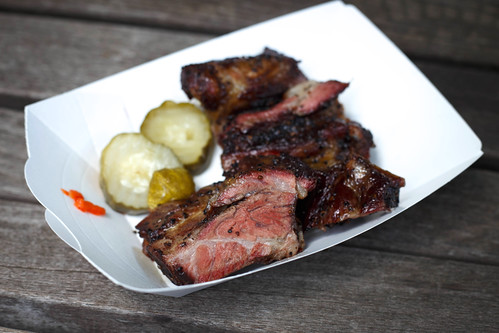 beef ribs from Blue Smoke