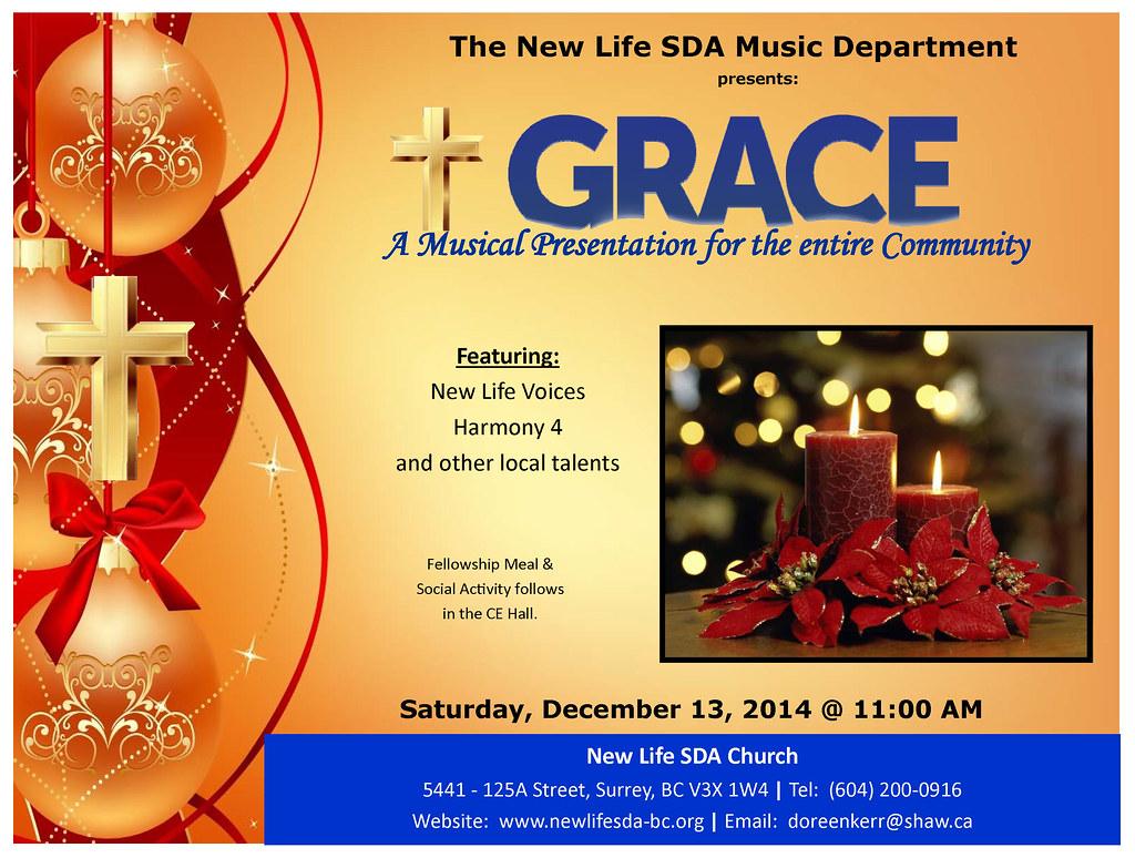 GRACE MUSICAL PRESENTATION - NEW LIFE SDA CHURCH SURRY