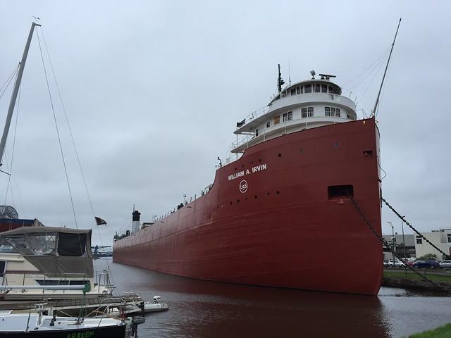 SS William A Irvin.  Duluth Minnesota, August 11 2016.