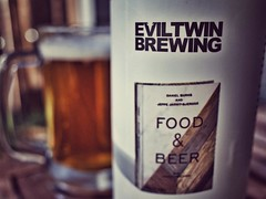 Cracked open the second of my #bouquetofbeers tonight: @eviltwinbrewing #foodandbeer . A solid #patiobeer to end the evening. #craftbeer #beertography #craftbeerwivesarethebestwives #brettbeer