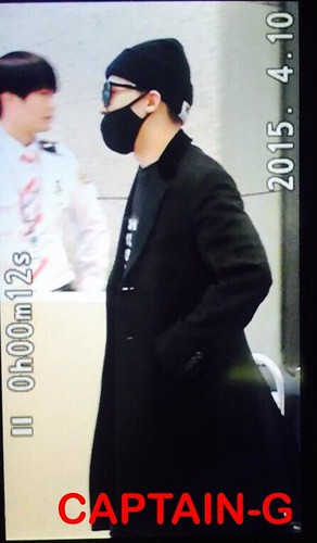 Big Bang - Incheon Airport - 10apr2015 - G-Dragon - Captain G - 03