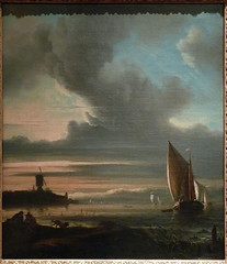 BACKHUYSEN Ludolf - Vue du Bastion Het Blauwhoofd, Amsterdam - Totality